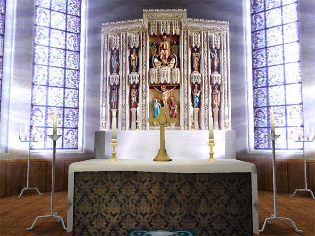 Click to view 3D Church Screen Saver 1.0.2 screenshot