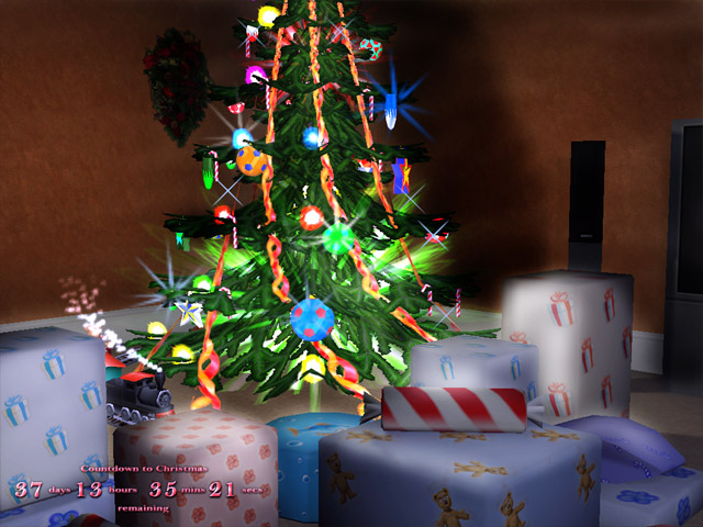3D Xmas Screensaver screen shot