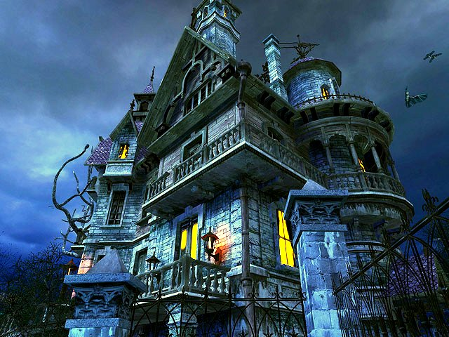 Haunted House 3d Screensaver Download Animated 3d Screensaver