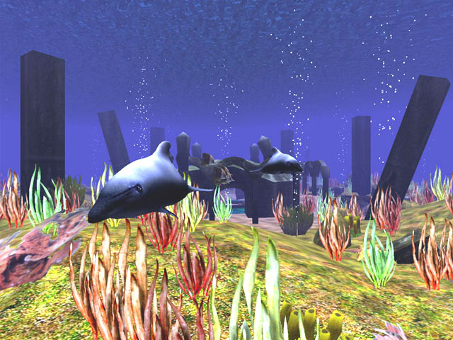 Aquatic Life 3D Screensaver Screenshot