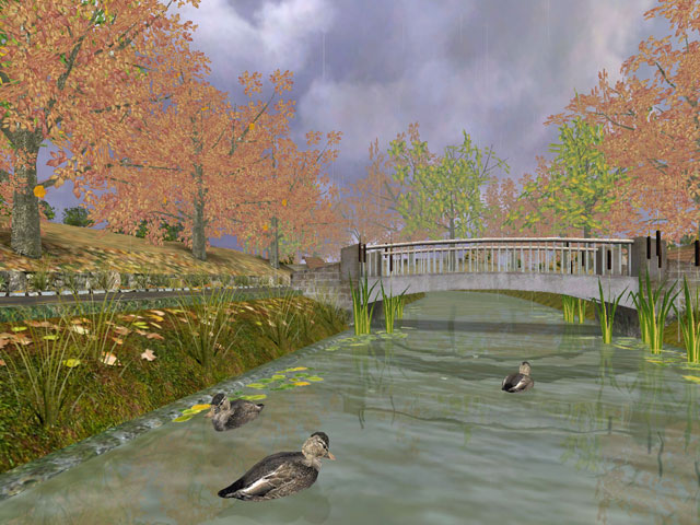 Click to view Autumn Time 3D Screensaver 1.01.5 screenshot