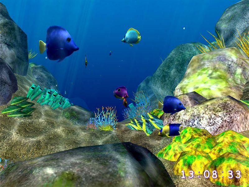 Crawler 3d marine aquarium screensaver screenshots