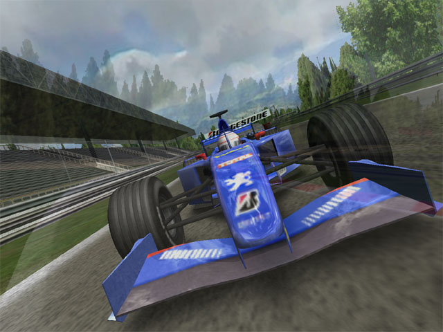 F1 Racing 3D Screensaver Screenshot