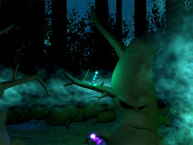 Fantasy Forest 3D Screensaver Screenshot