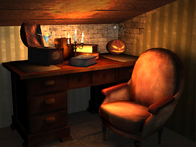 Halloween House 3D Screensaver Screenshot