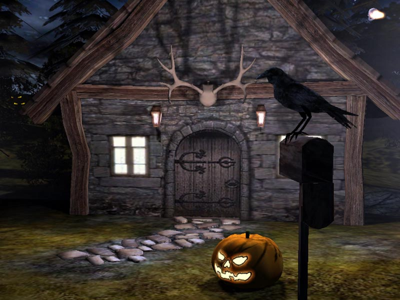 Click to view Halloween Time 3D Screensaver 2.0.2 screenshot