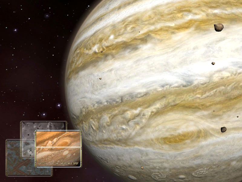 Jupiter 3D Space Screensaver 1.0.3