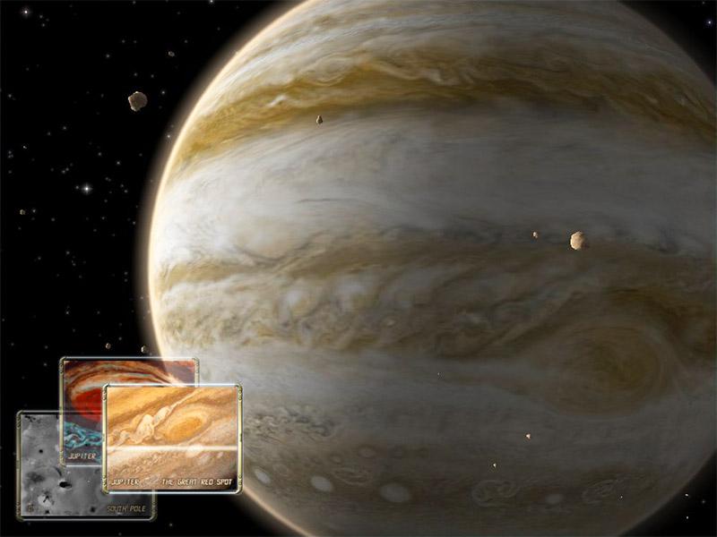 Jupiter 3D Space Survey Screensaver for Mac OS X
