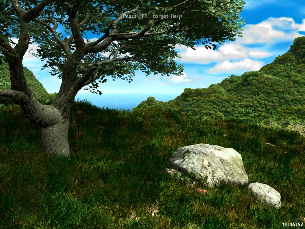living landscape screensaver