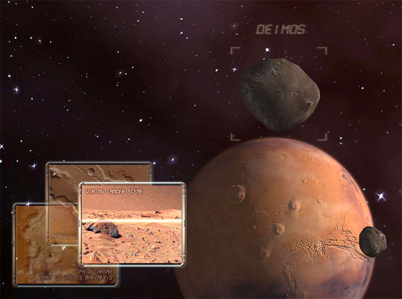 Discover the secrets of mysterious Mars Planet Screen Shot