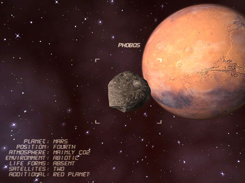 Mars 3D Screensaver Screenshot