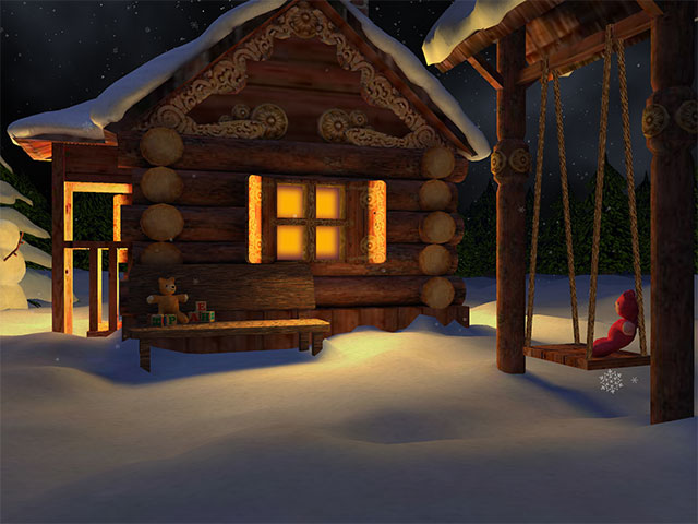 3D Mild Winter Screensaver Screenshot