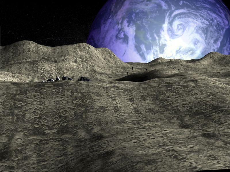 Moon Base 3d Screensaver Download Animated 3d Screensaver