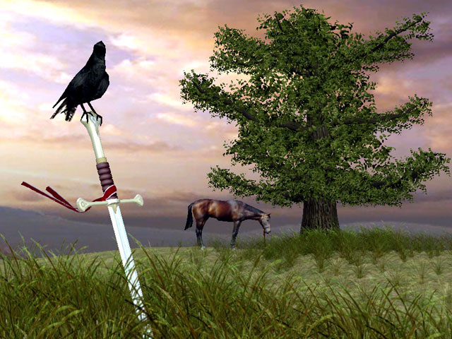 Click to view The Sword 3D Screensaver 1.0.4 screenshot