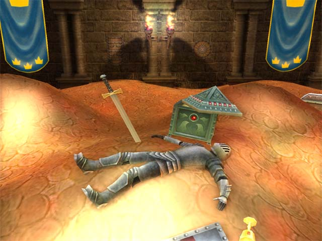 Treasure Chamber 3D Screensaver Screenshot