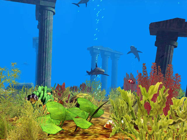 Underwater World 3D Screensaver Screenshot