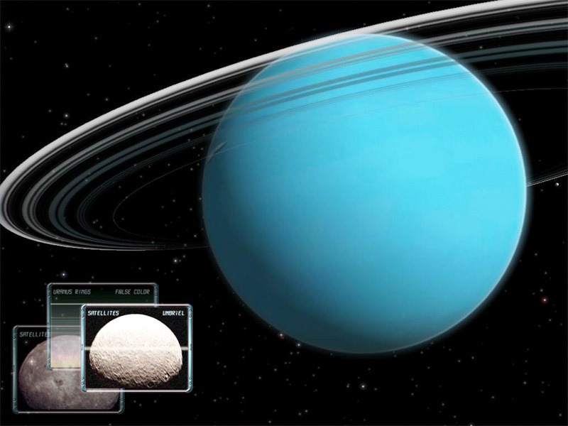Uranus 3D Space Survey Screensaver for Mac OS X 1.0.0.1