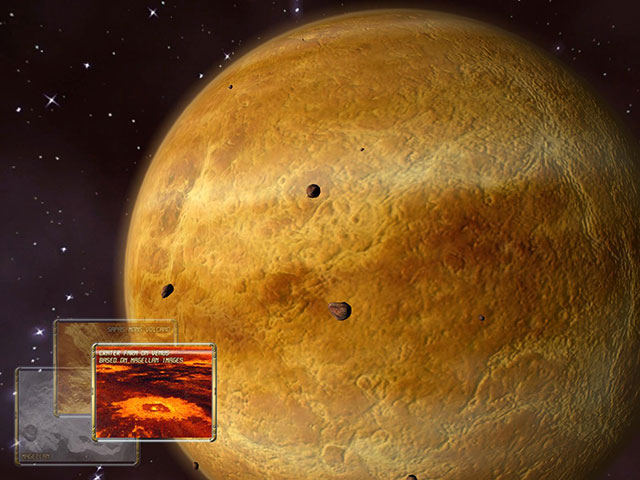 Take fascinating 3D journey to the Venus Planet Screen Shot