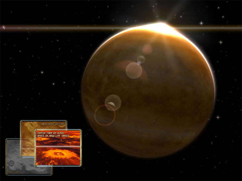 Venus 3d space survey for mac os x gallery image 3 of 3 for Cuisine 3d mac os x