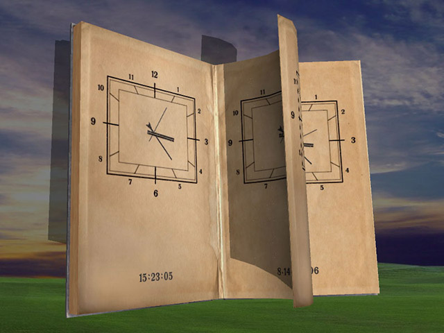 Click to view Magic Book 3D Screensaver 1.02.5 screenshot