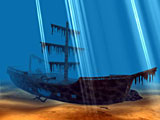 screensaver,screensavers,3d screensaver,pirates,pirate,ship,3d,free,download,caribbean,corsair