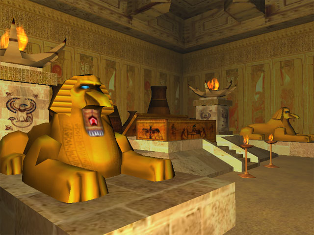 Click to view The Secrets of Egypt 3D Screensaver 1.0.3 screenshot