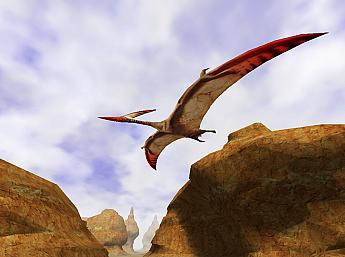 3D Canyon Flight Screensaver Image