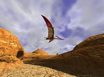 3D Canyon Flight Screensaver