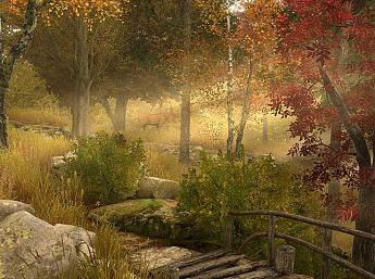 Autumn Walk 3D Screensaver