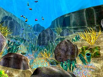 Coral World 3D Screensaver