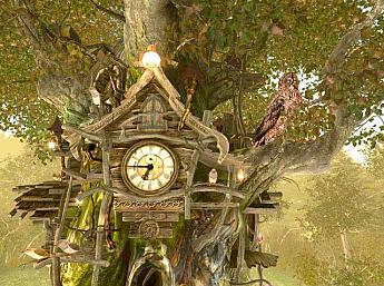 Cuckoo Clock 3D Screensaver