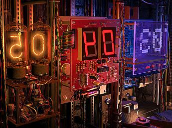 Digital Clock 3D Screensaver