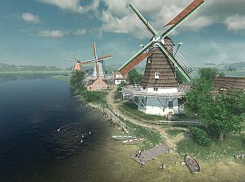 Dutch Windmills 3D Salvapantallas