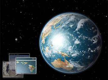 Earth 3D Space Survey for Mac OS X