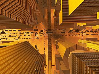 Future City 3D for Mac OS X Screensaver