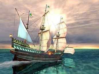 Galleon 3D Salvapantallas
