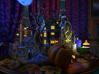 Halloween Evening 3D увеличить