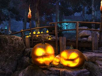 Halloween Walk 3D Screensaver