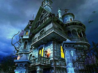 Haunted House 3D Bildschirmschoner