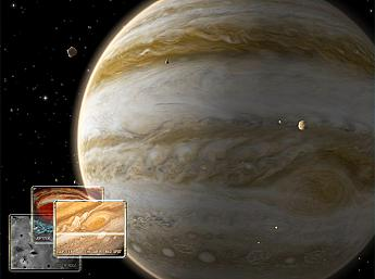 Jupiter 3D Space Survey for Mac OS X Screensaver