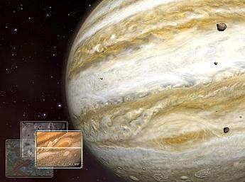 Jupiter 3D Space Survey Screensaver