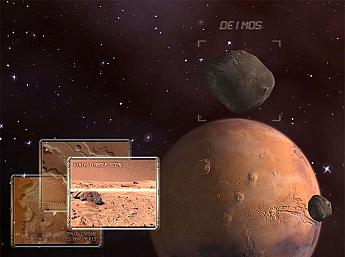 Mars 3D Space Survey Screensaver