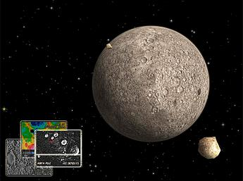 Mercury 3D Space Survey for Mac OS X Screensaver