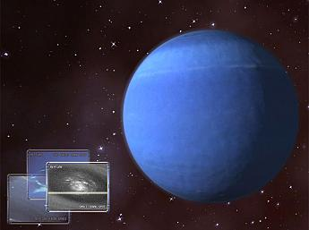 Neptune 3D Space Survey Screensaver