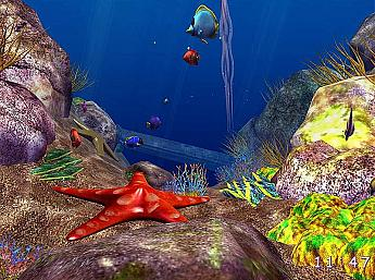 Ocean Fish 3D Screensaver