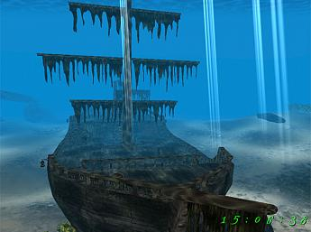 Pirate Ship 3D Screensaver