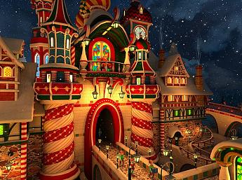 Santa's Castle 3D Screensaver