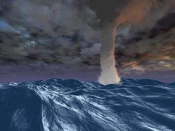 Sea Storm 3D Screensaver Image