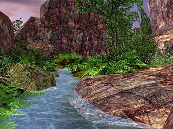 Spring Valley 3D Screensaver
