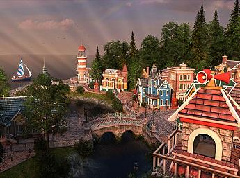 Spring Village 3D Screensaver